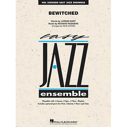Hal Leonard Bewitched Jazz Band Level 2 Arranged by Rick Stitzel thumbnail