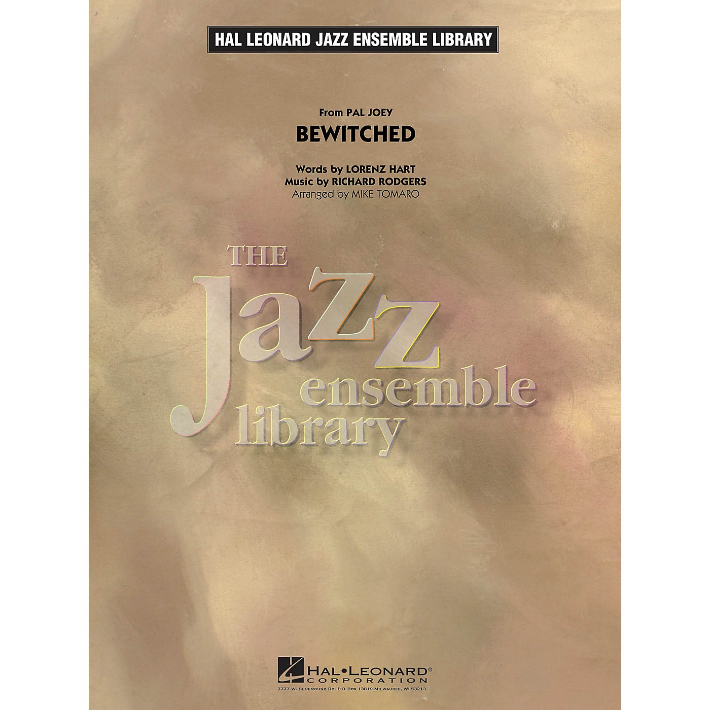 Hal Leonard Bewitched Jazz Band Level 4 Arranged by Mike Tomaro thumbnail