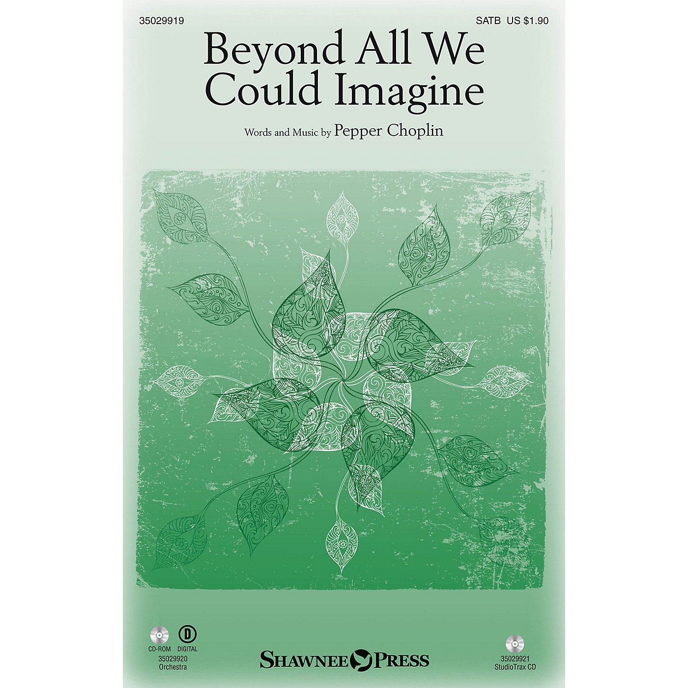 Shawnee Press Beyond All We Could Imagine SATB composed by Pepper Choplin thumbnail