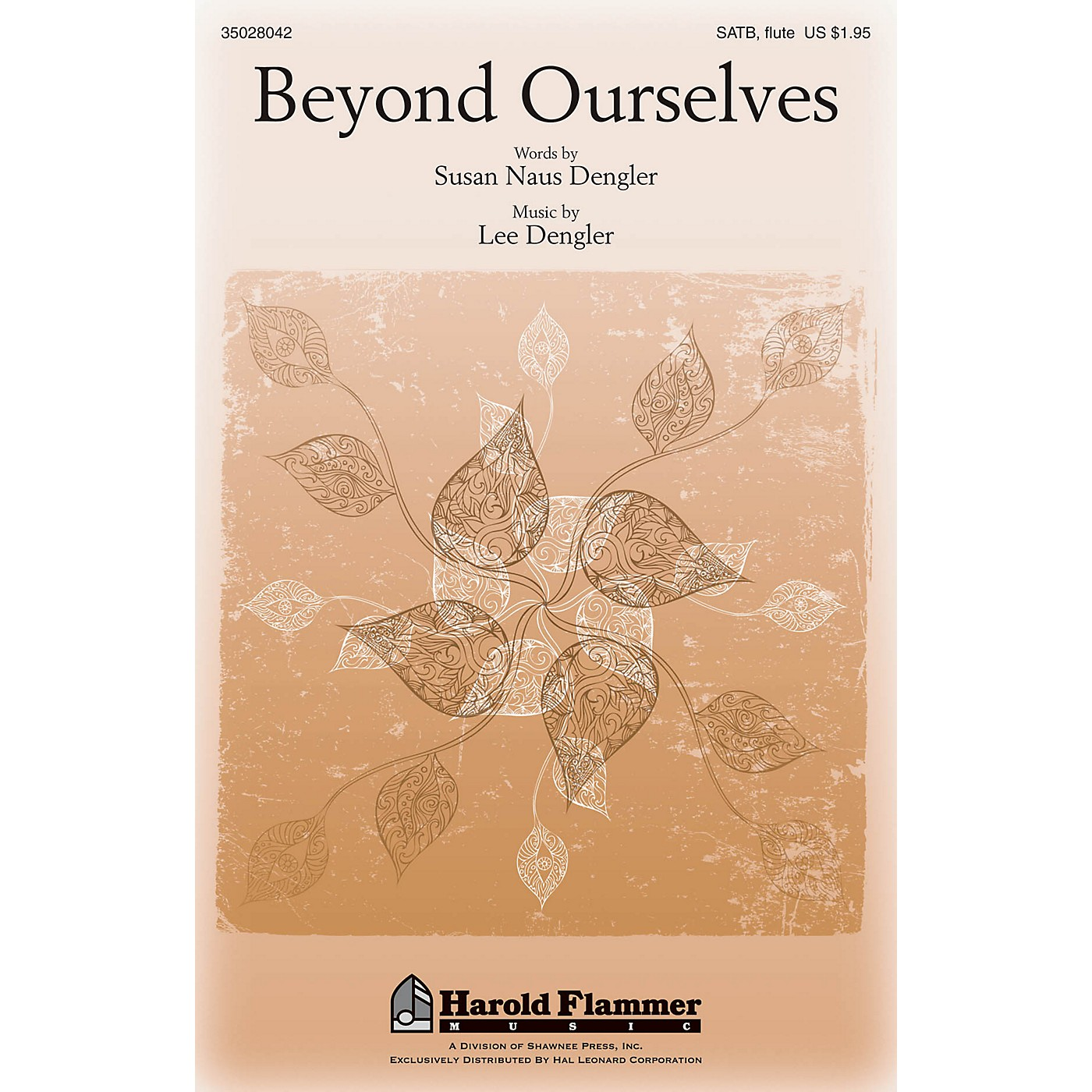 Shawnee Press Beyond Ourselves SATB WITH FLUTE (OR C-INST) composed by Lee Dengler thumbnail