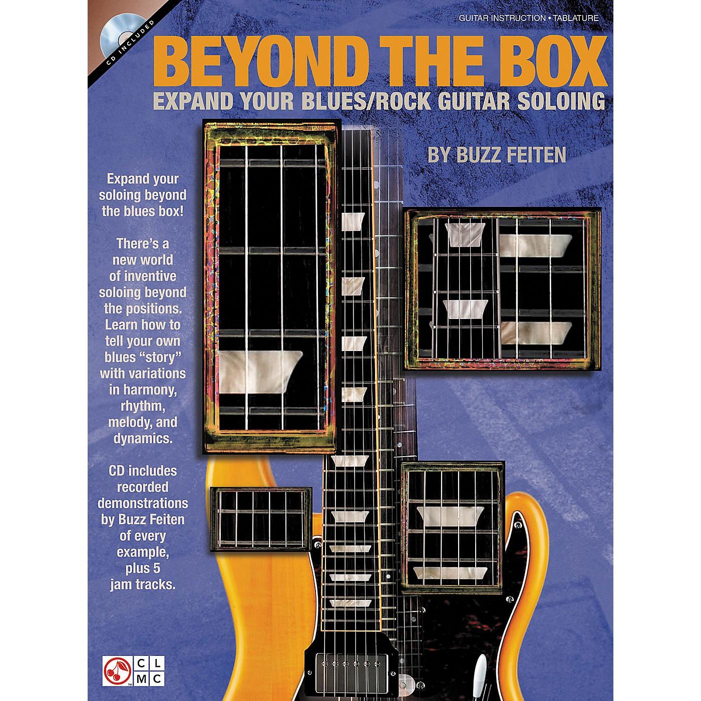 Cherry Lane Beyond The Box: Expand Your Blues/Rock Guitar Soloing (Book/CD) thumbnail