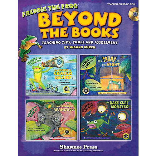Hal Leonard Beyond the Books: Teaching with Freddie the Frog Teacher CD-ROM Composed by Sharon Burch thumbnail