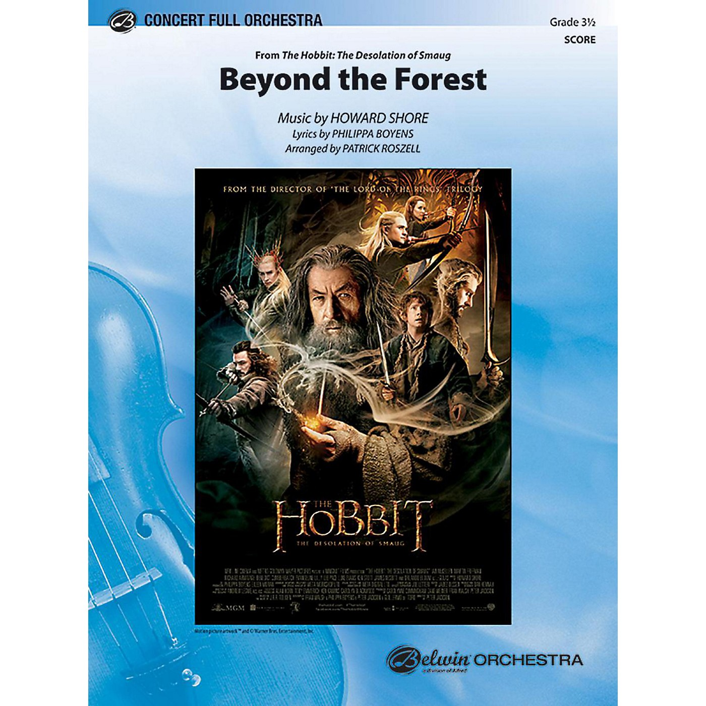 Alfred Beyond the Forest Full Orchestra Grade 3.5 Set thumbnail
