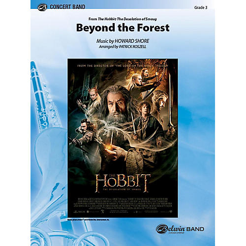 Alfred Beyond the Forest from The Hobbit: The Desolation of Smaug Concert Band Grade 3 Set thumbnail