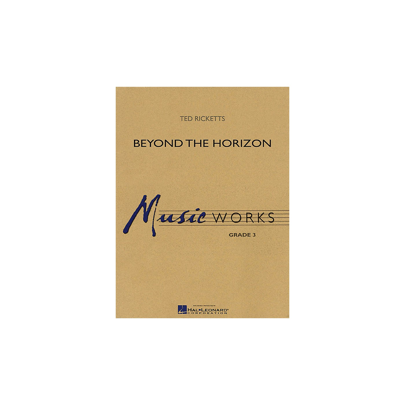 Hal Leonard Beyond the Horizon Concert Band Level 3 Arranged by Ted Ricketts thumbnail