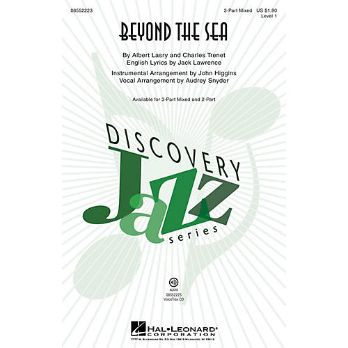 Hal Leonard Beyond the Sea (Discovery Level 1) VoiceTrax CD by Bobby Darin Arranged by Audrey Snyder thumbnail