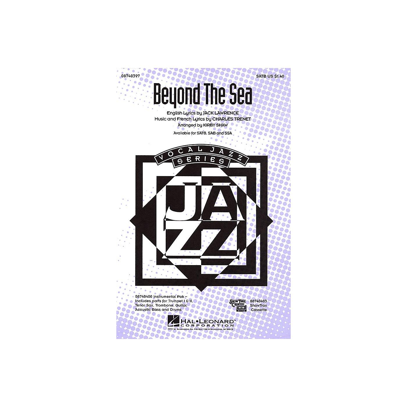 Hal Leonard Beyond the Sea SATB arranged by Kirby Shaw thumbnail