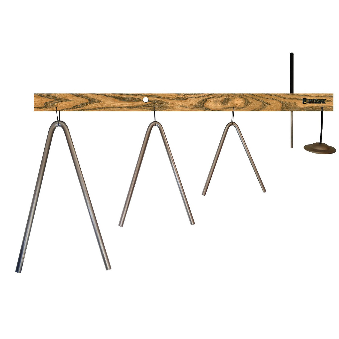Treeworks Bi-Angle Tree with Beater & Finger Cymbal thumbnail