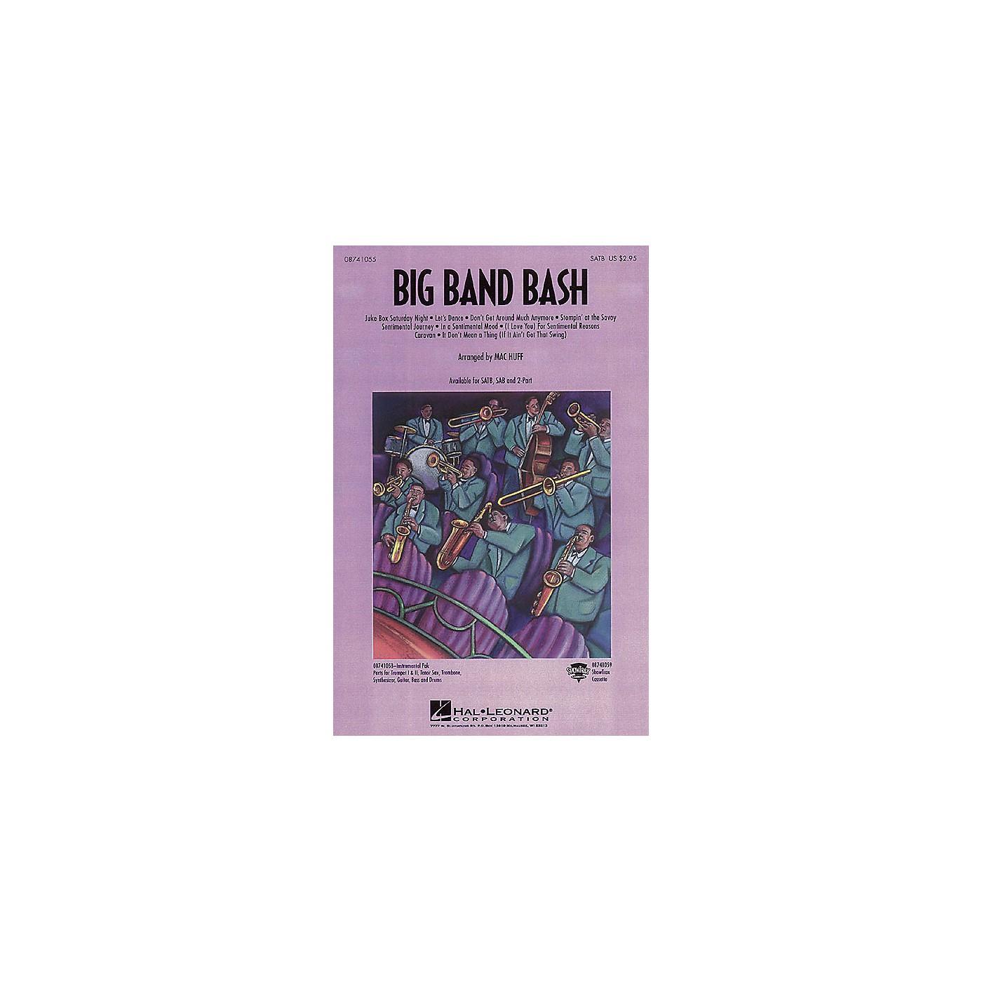 Hal Leonard Big Band Bash (Medley) SATB arranged by Mac Huff thumbnail
