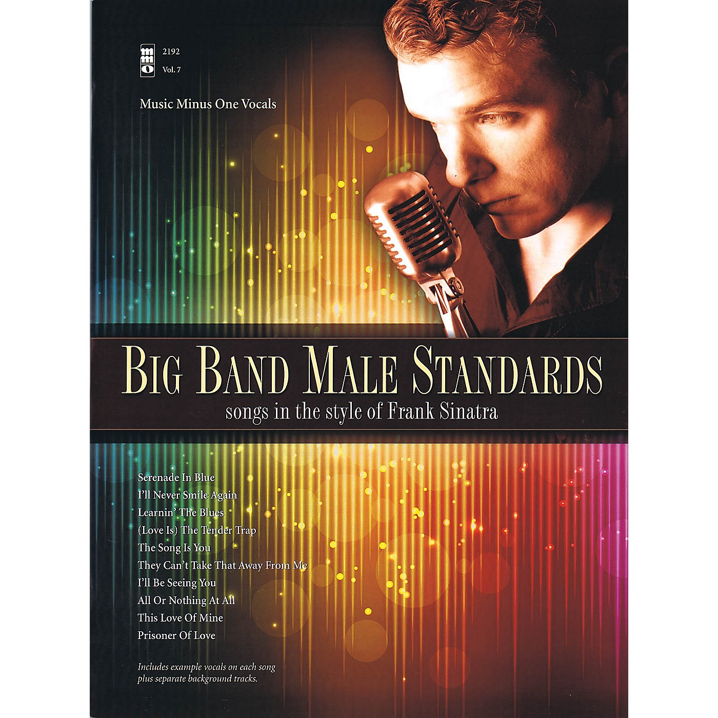 Music Minus One Big Band Male Standards (Songs in the Style of Frank Sinatra) Music Minus One Series Softcover with CD thumbnail