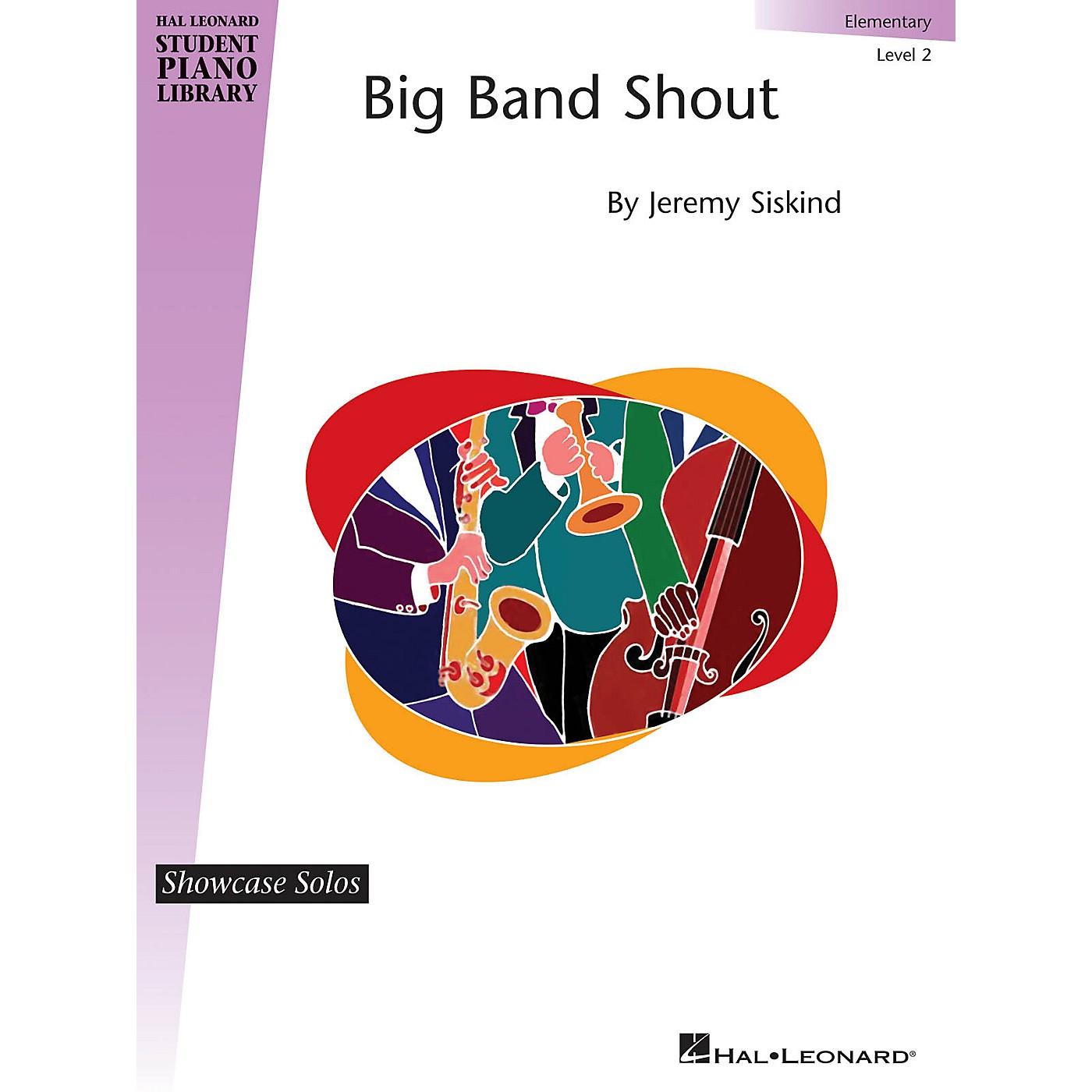 Hal Leonard Big Band Shout Piano Library Series by Jeremy Siskind (Level Elem) thumbnail