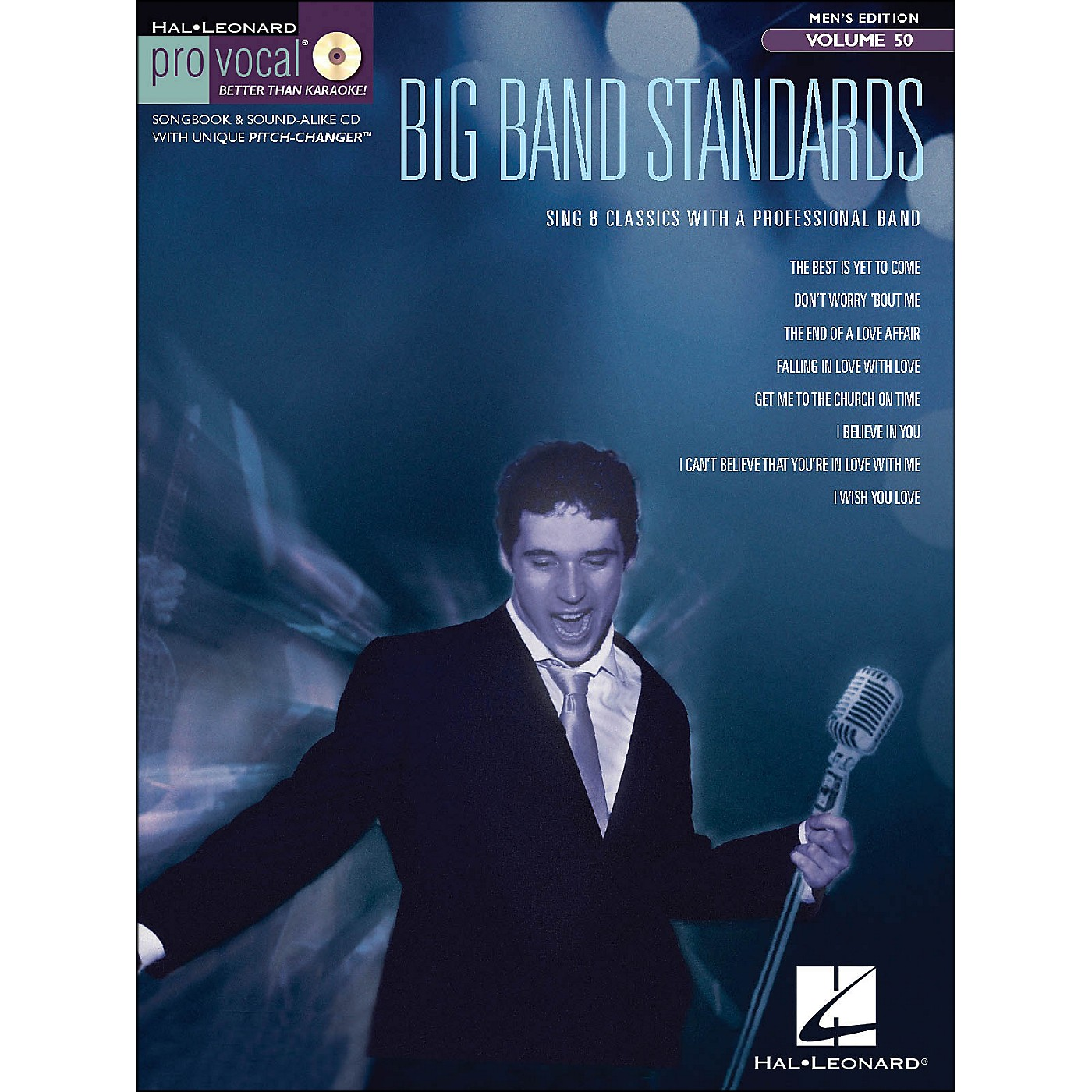 Hal Leonard Big Band Standards - Pro Vocal Songbook & CD for Male Singers Volume 50 thumbnail