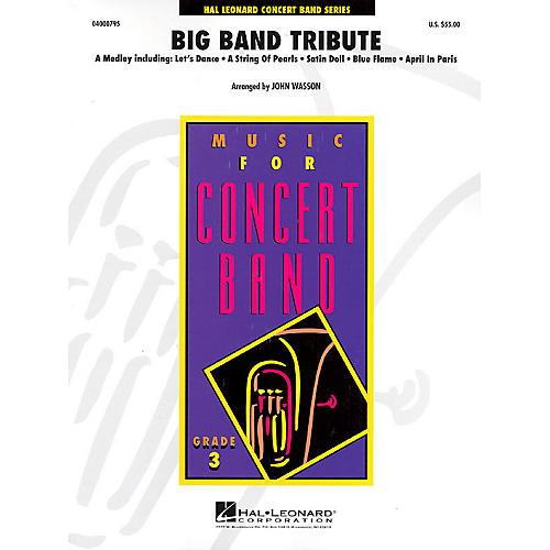 Hal Leonard Big Band Tribute - Young Concert Band Level 3 by John Wasson thumbnail