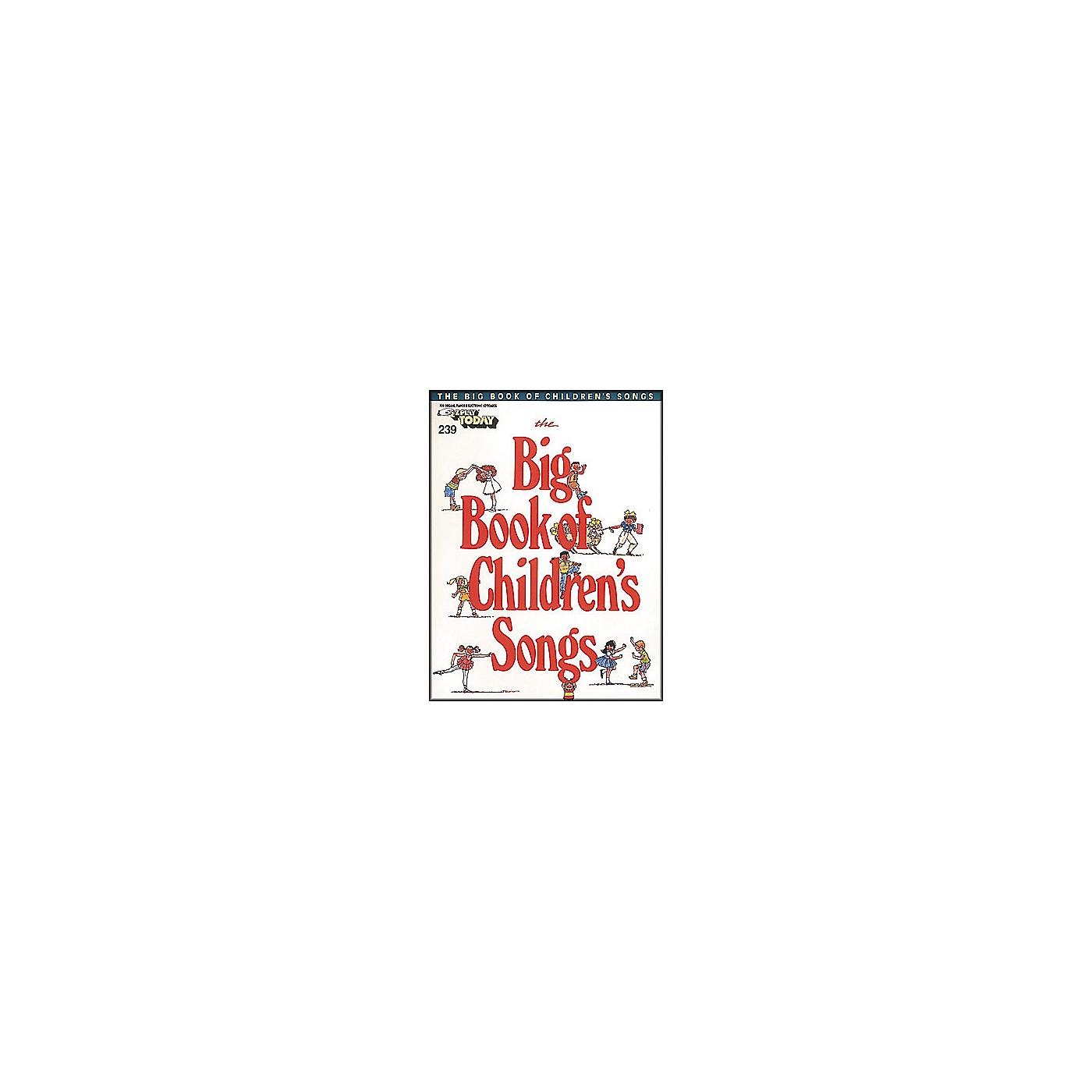 Hal Leonard Big Book Of Children's Songs E-Z Play 239 thumbnail