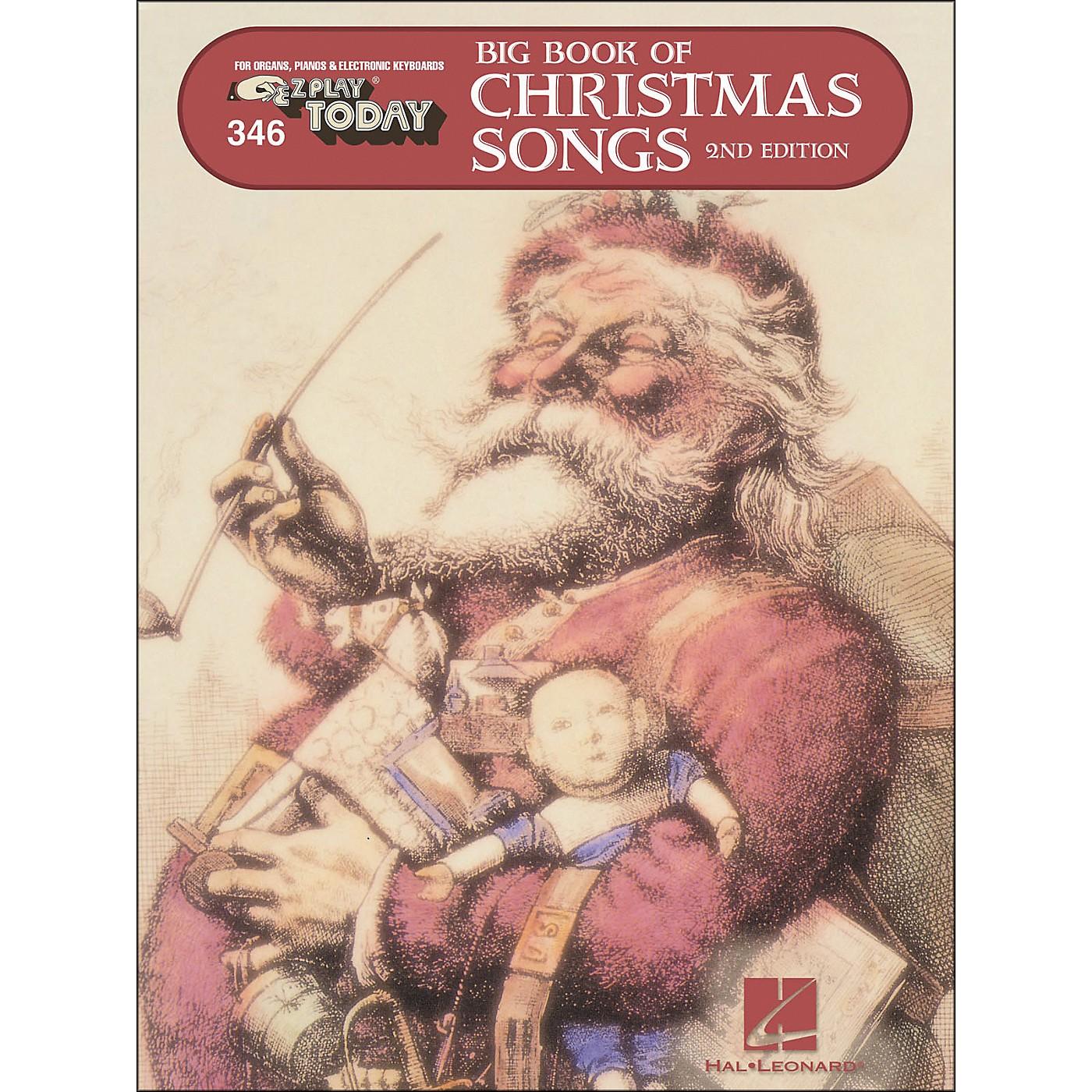 Hal Leonard Big Book Of Christmas Songs E-Z Play 346 thumbnail