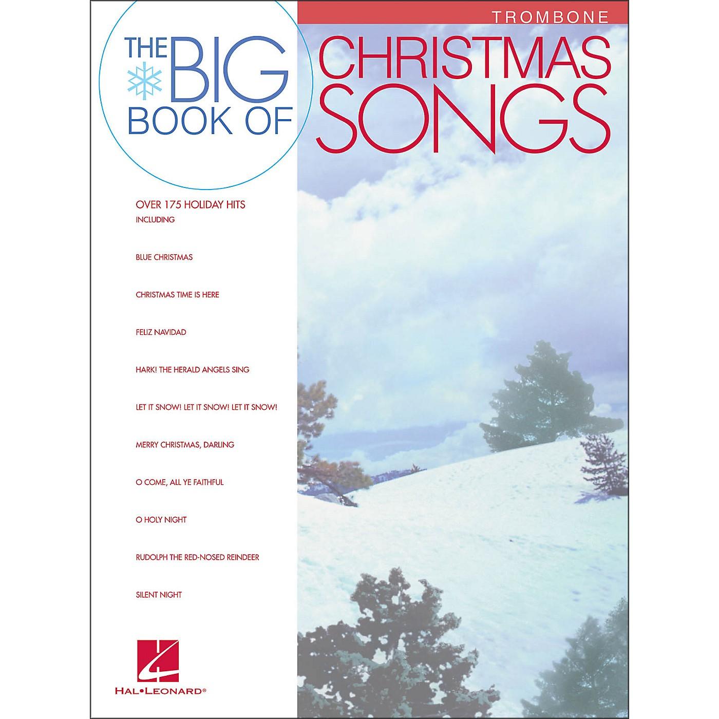 Hal Leonard Big Book Of Christmas Songs for Trombone thumbnail