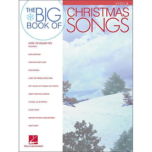 Hal Leonard Big Book Of Christmas Songs for Viola thumbnail
