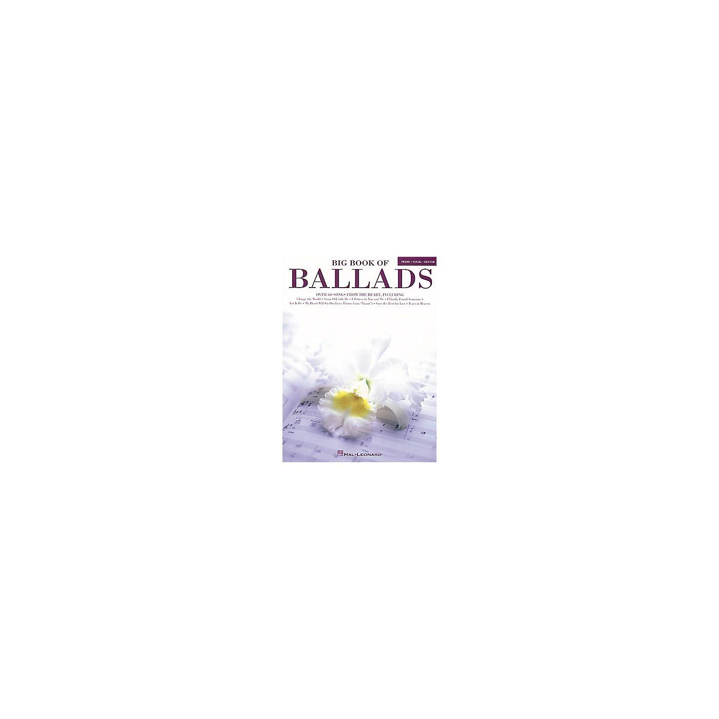Hal Leonard Big Book of Ballads Book thumbnail
