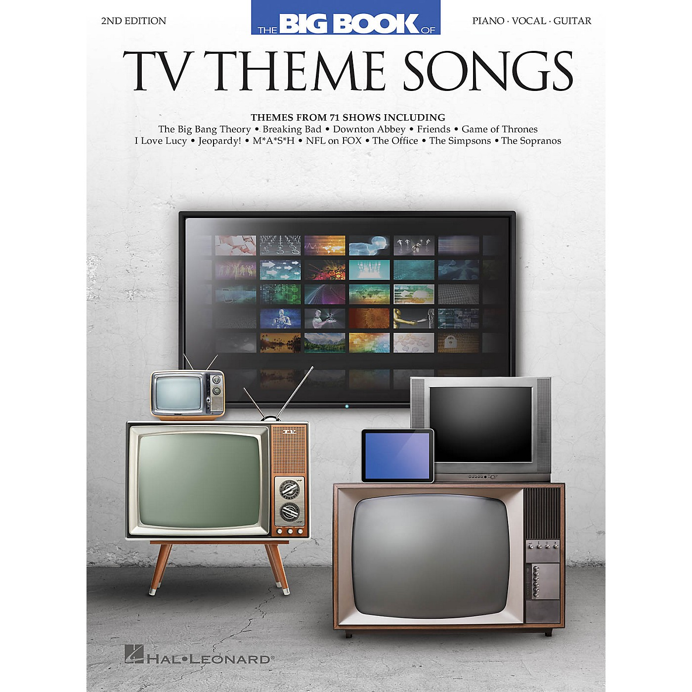 Hal Leonard Big Book of TV Theme Songs - 2nd Edition Piano/Vocal/Guitar Songbook thumbnail