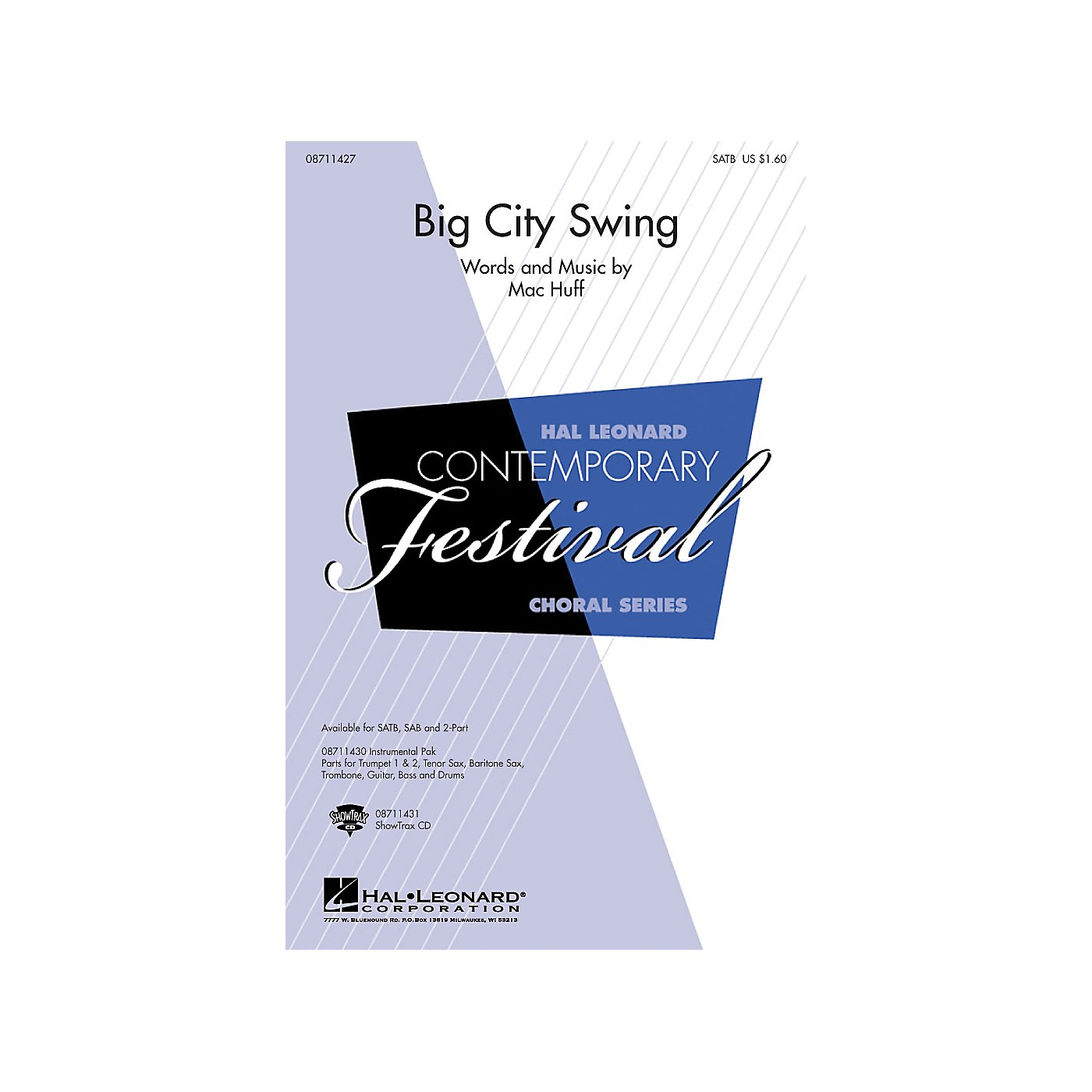 Hal Leonard Big City Swing ShowTrax CD thumbnail
