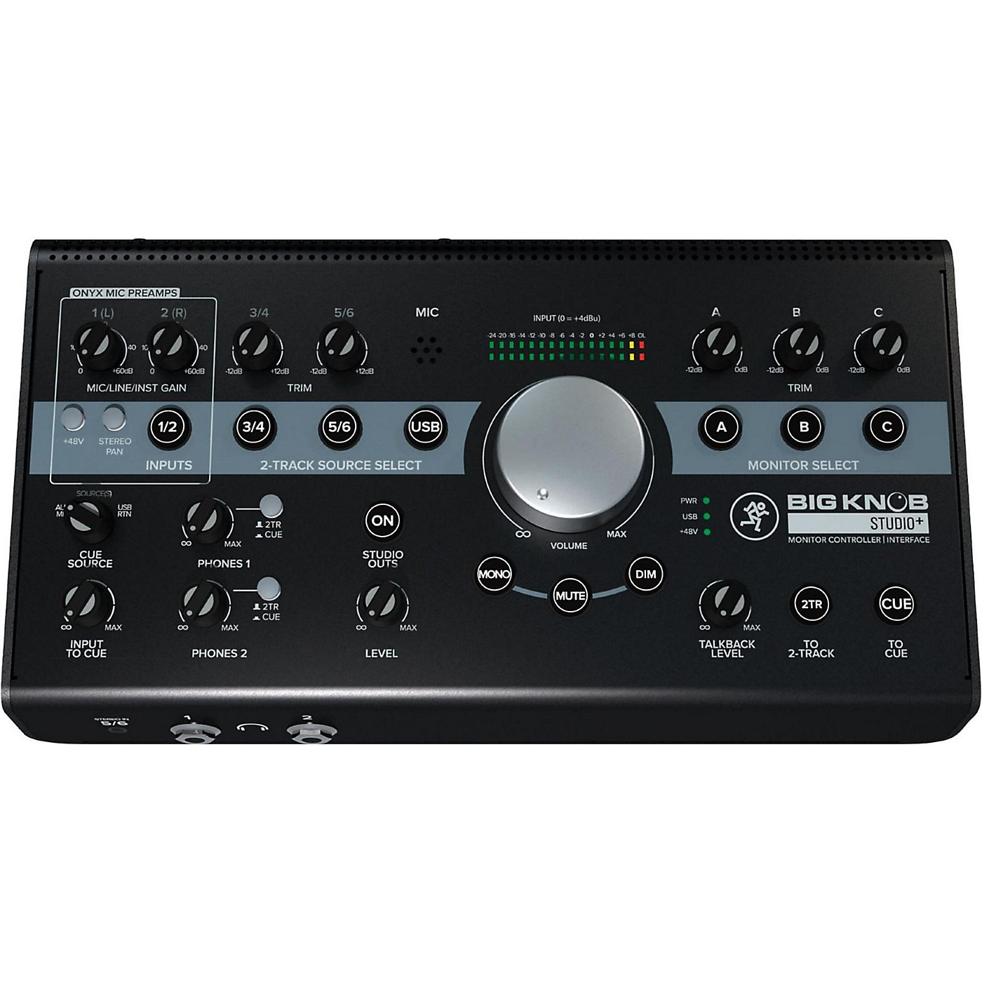 Mackie Big Knob Studio+ Monitor Controller Interface thumbnail