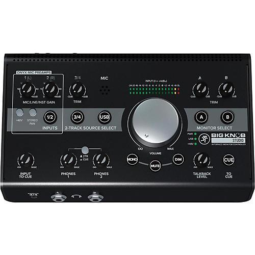 Mackie Big Knob Studio Monitor Controller Interface thumbnail