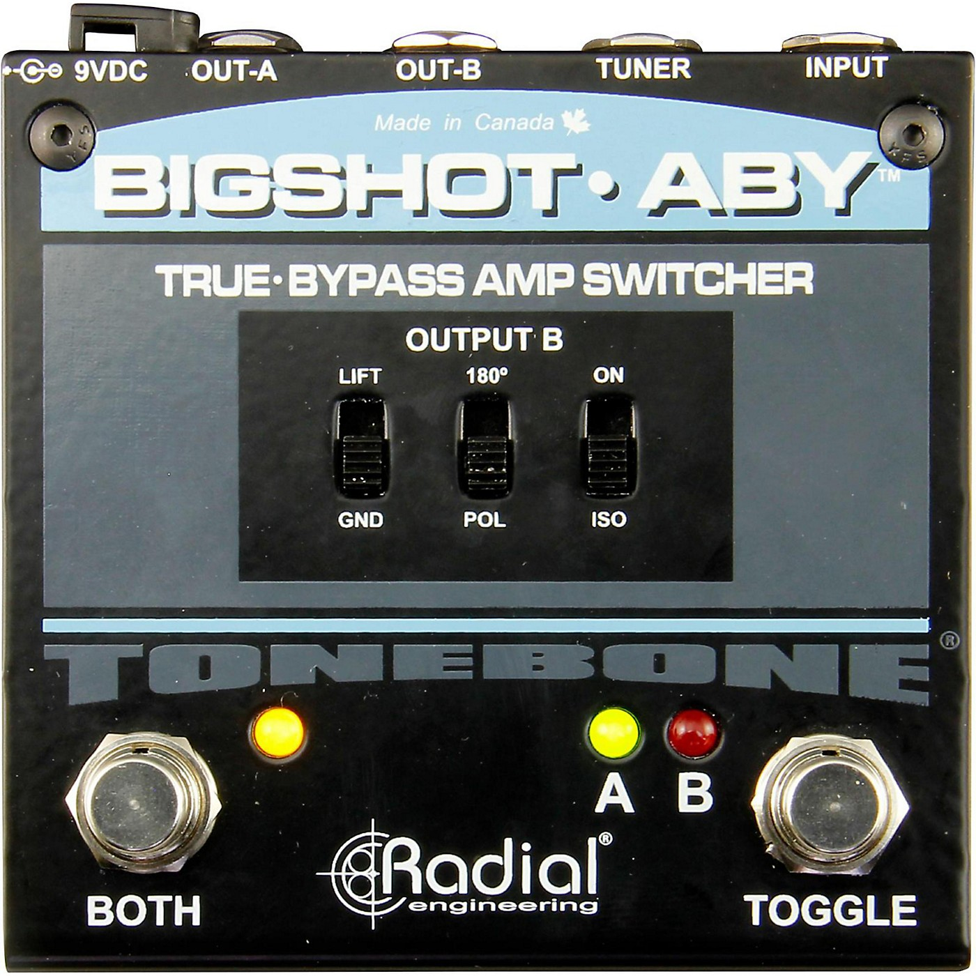 Radial Engineering BigShot ABY True Bypass Switch Pedal thumbnail