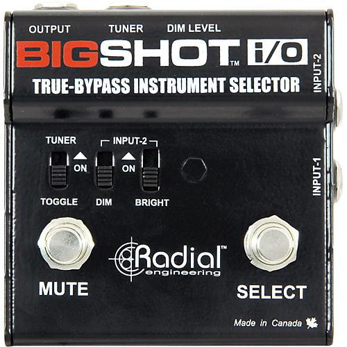 Radial Engineering BigShot I/O Selector Switch thumbnail