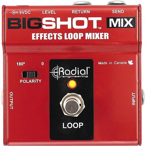 Radial Engineering BigShot MIX Effects Loop Mixer-thumbnail