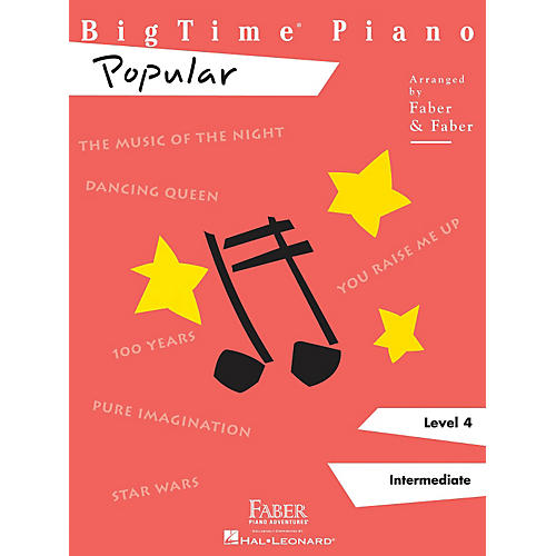 Faber Piano Adventures Bigtime Piano Level 4 Popular - Faber Piano Adventures Series thumbnail