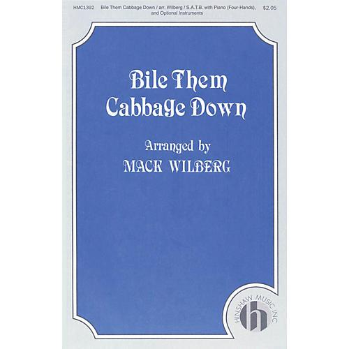 Hinshaw Music Bile Them Cabbage Down SATB arranged by Mack Wilberg thumbnail