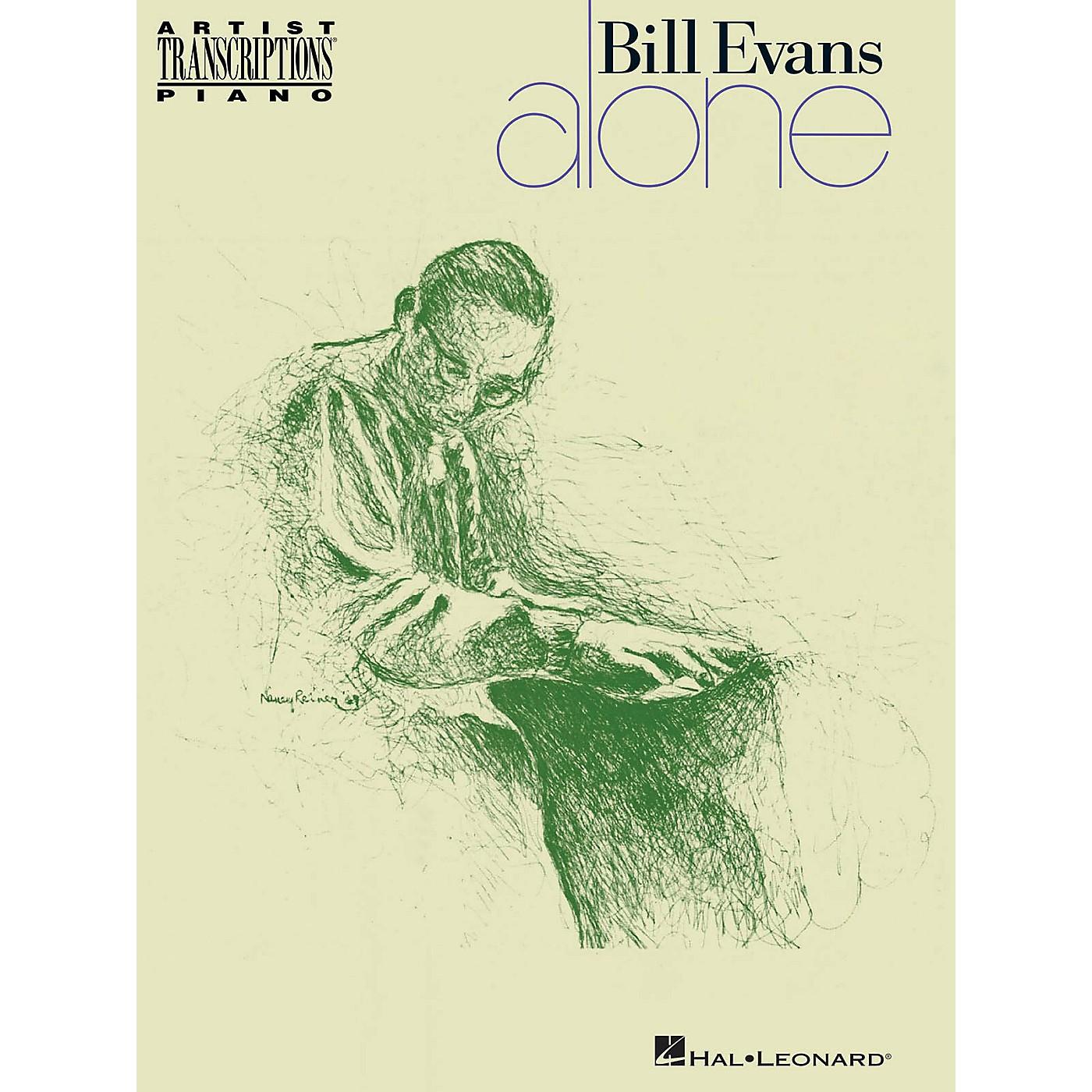Hal Leonard Bill Evans - Alone Artist Transcriptions Series Softcover Performed by Bill Evans thumbnail