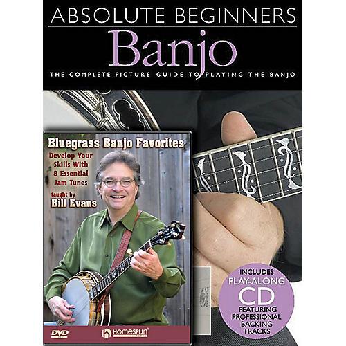 Homespun Bill Evans Banjo Pack Homespun Tapes Series Performed by Bill Evans thumbnail