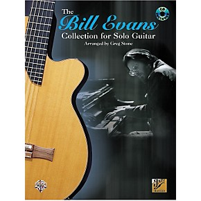 Alfred Bill Evans Collection for Solo Guitar (Book/CD)