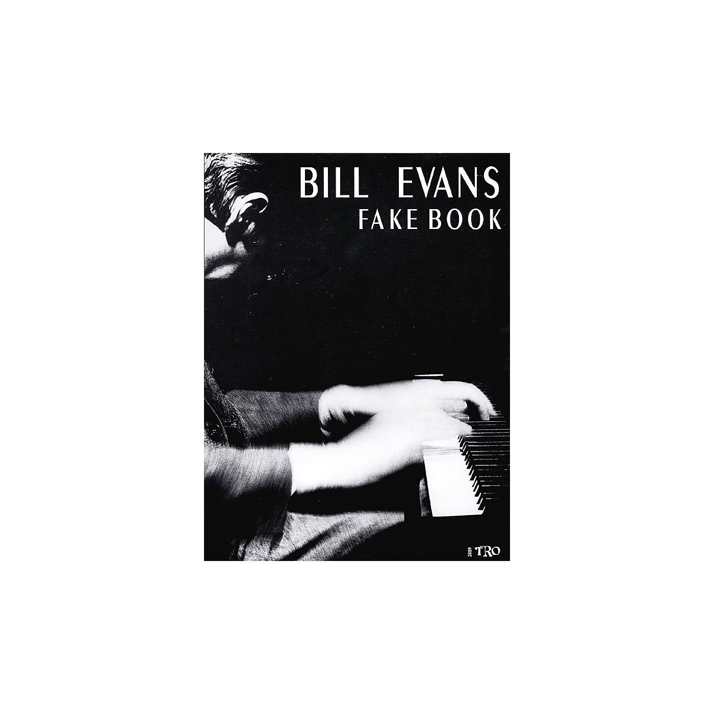 TRO ESSEX Music Group Bill Evans Fake Book Richmond Music ¯ Folios Series Performed by Bill Evans thumbnail