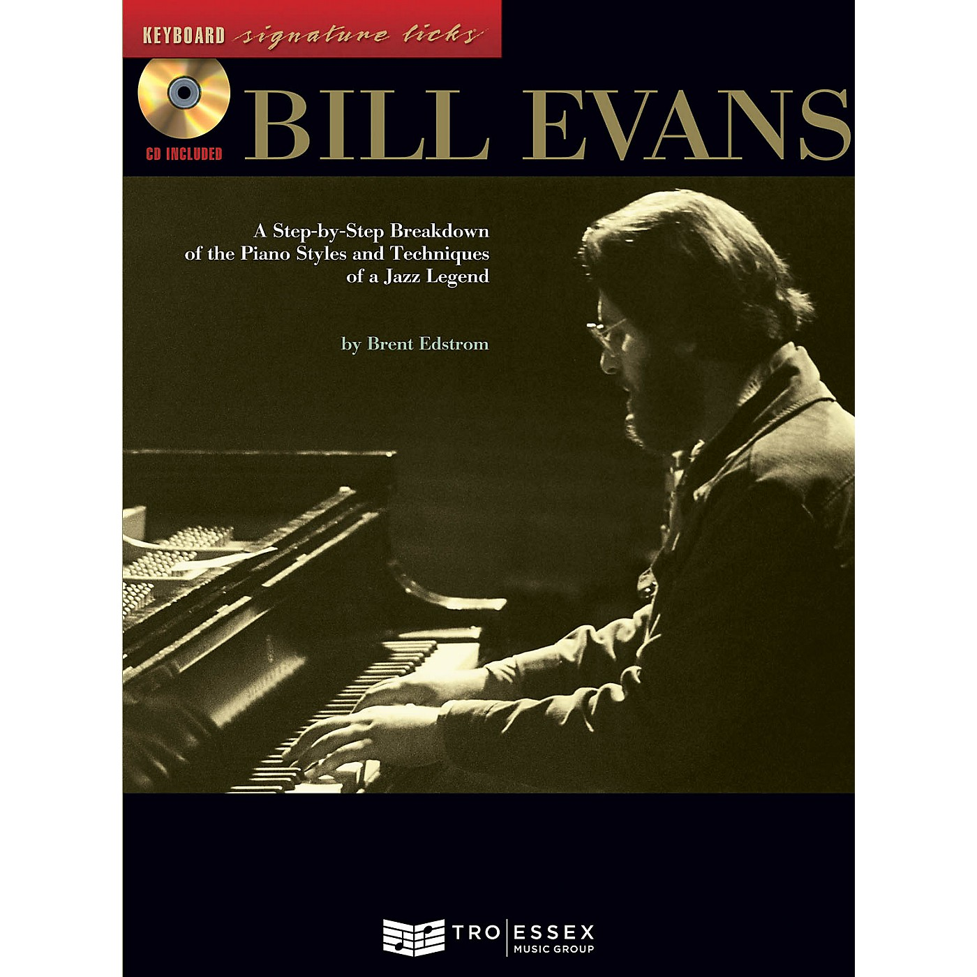 Hal Leonard Bill Evans Signature Licks Keyboard Series Softcover with CD Written by Brent Edstrom thumbnail