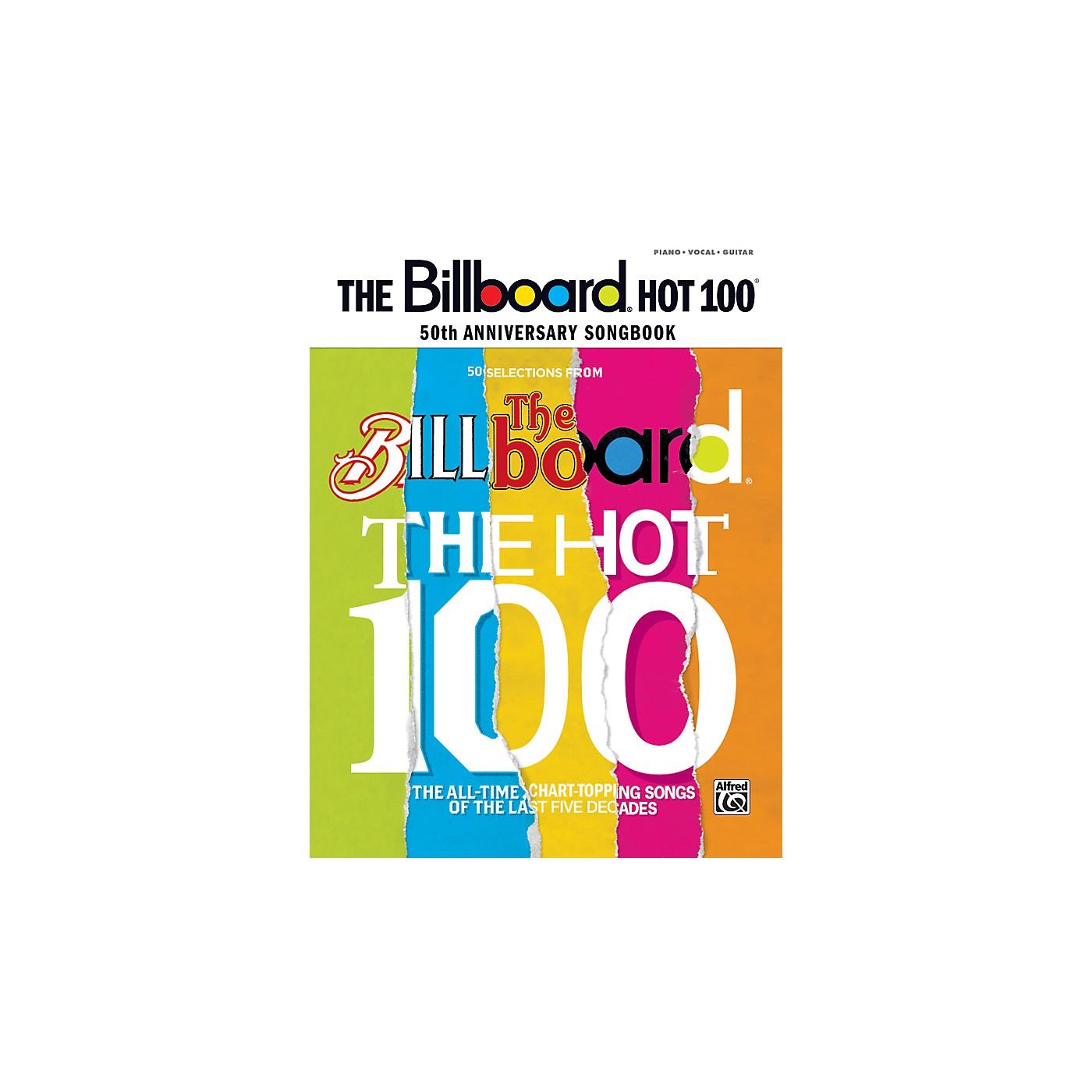Alfred Billboard Magazine Hot 100 50th Anniversary Songbook PVC thumbnail