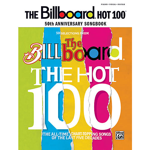 Alfred Billboard Magazine Hot 100 50th Anniversary Songbook PVC thumbnail