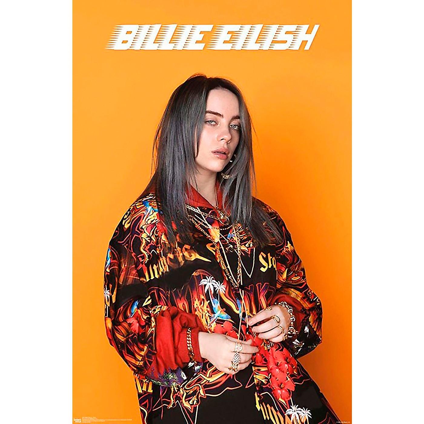 Trends International Billie Eilish - Portrait Poster thumbnail