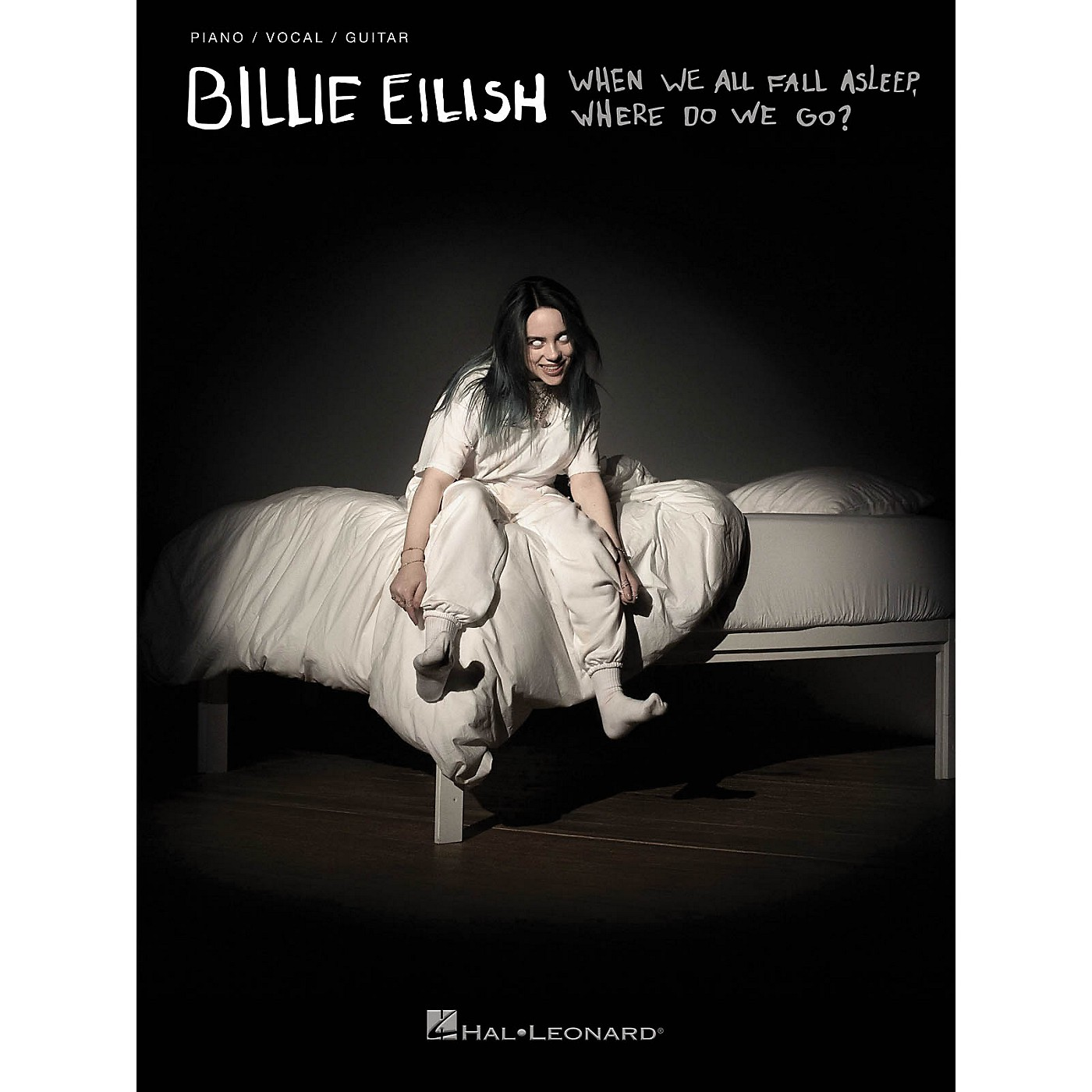 Hal Leonard Billie Eilish - When We All Fall Asleep, Where Do We Go? Piano/Vocal/Guitar Songbook thumbnail