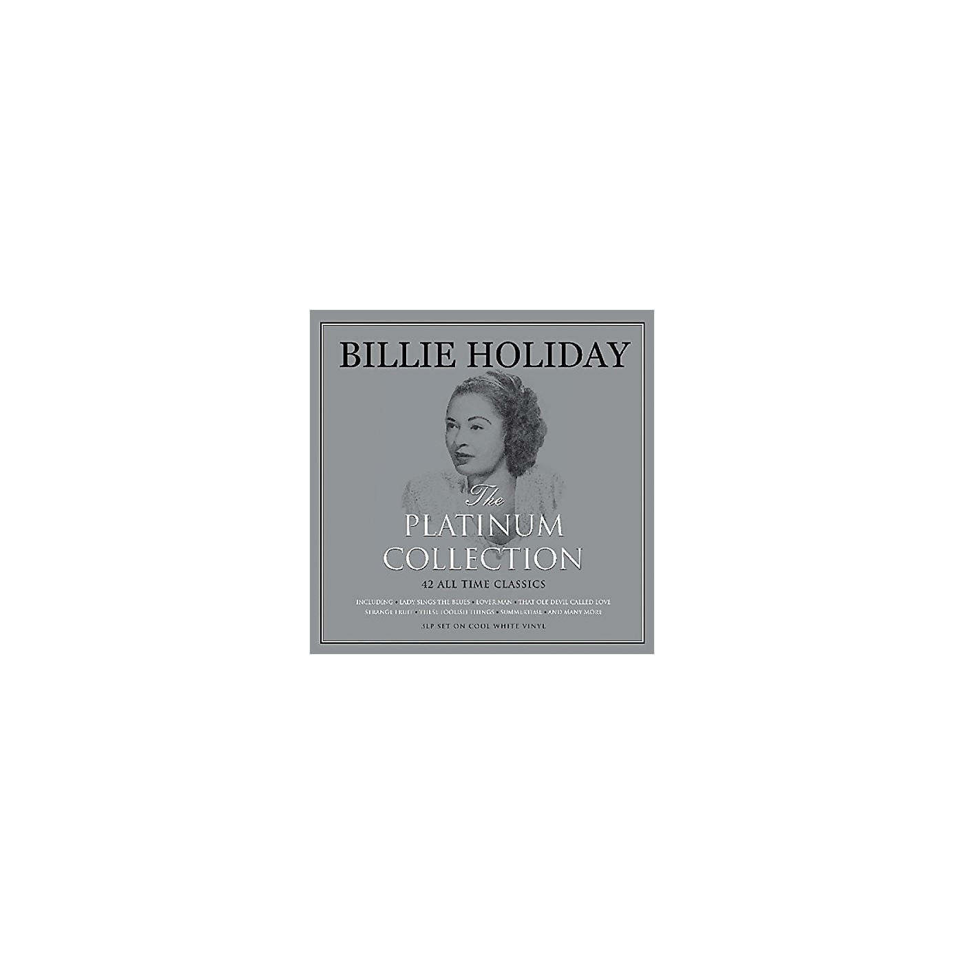 Alliance Billie Holiday - Platinum Collection (White Vinyl) thumbnail