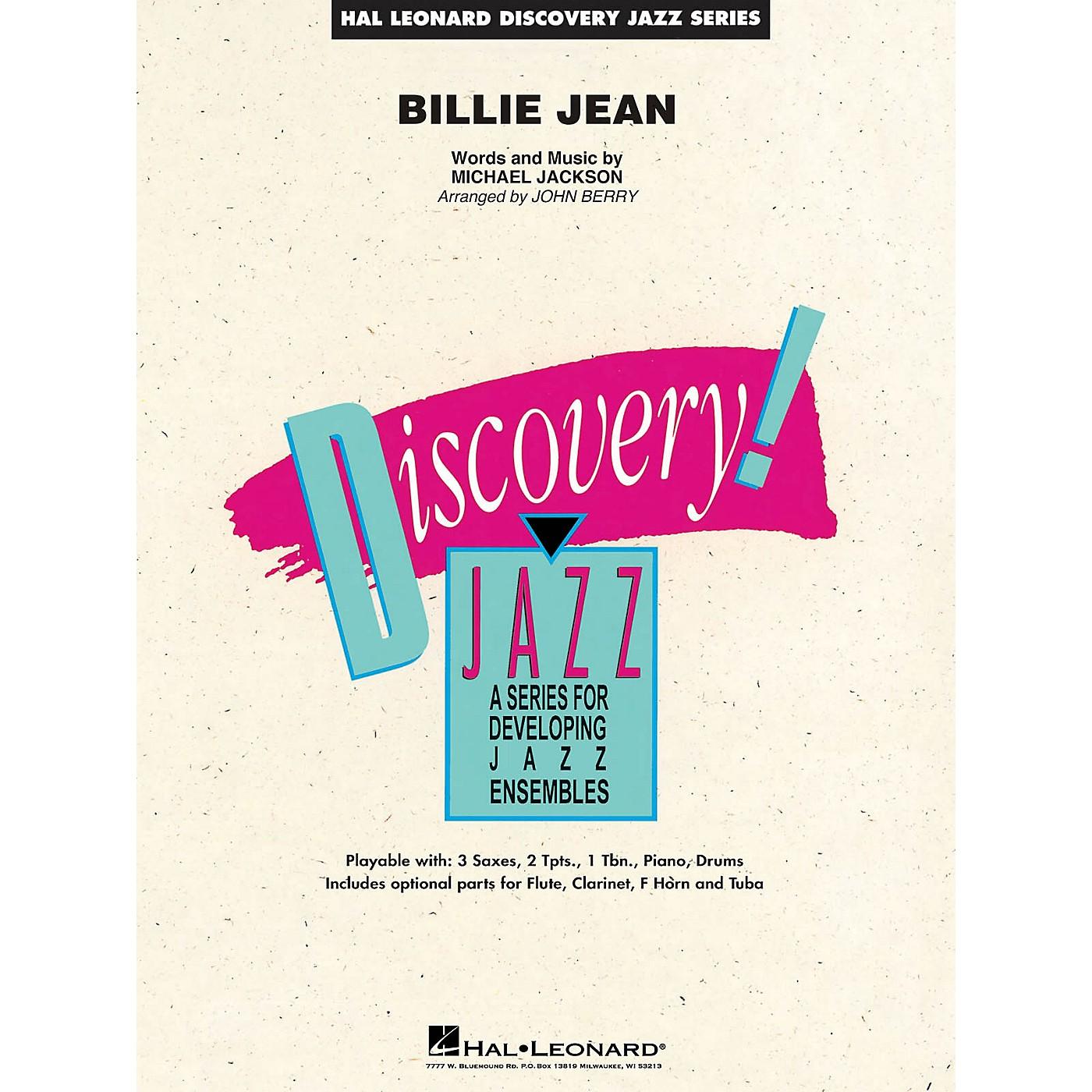 Hal Leonard Billie Jean Jazz Band Level 1.5 by Michael Jackson Arranged by John Berry thumbnail
