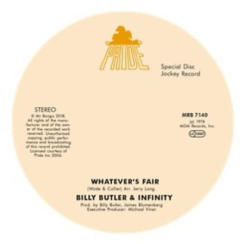 Alliance Billy Butler & Infinity & Lady Lee - Whatever'S Fair / Simple Things thumbnail