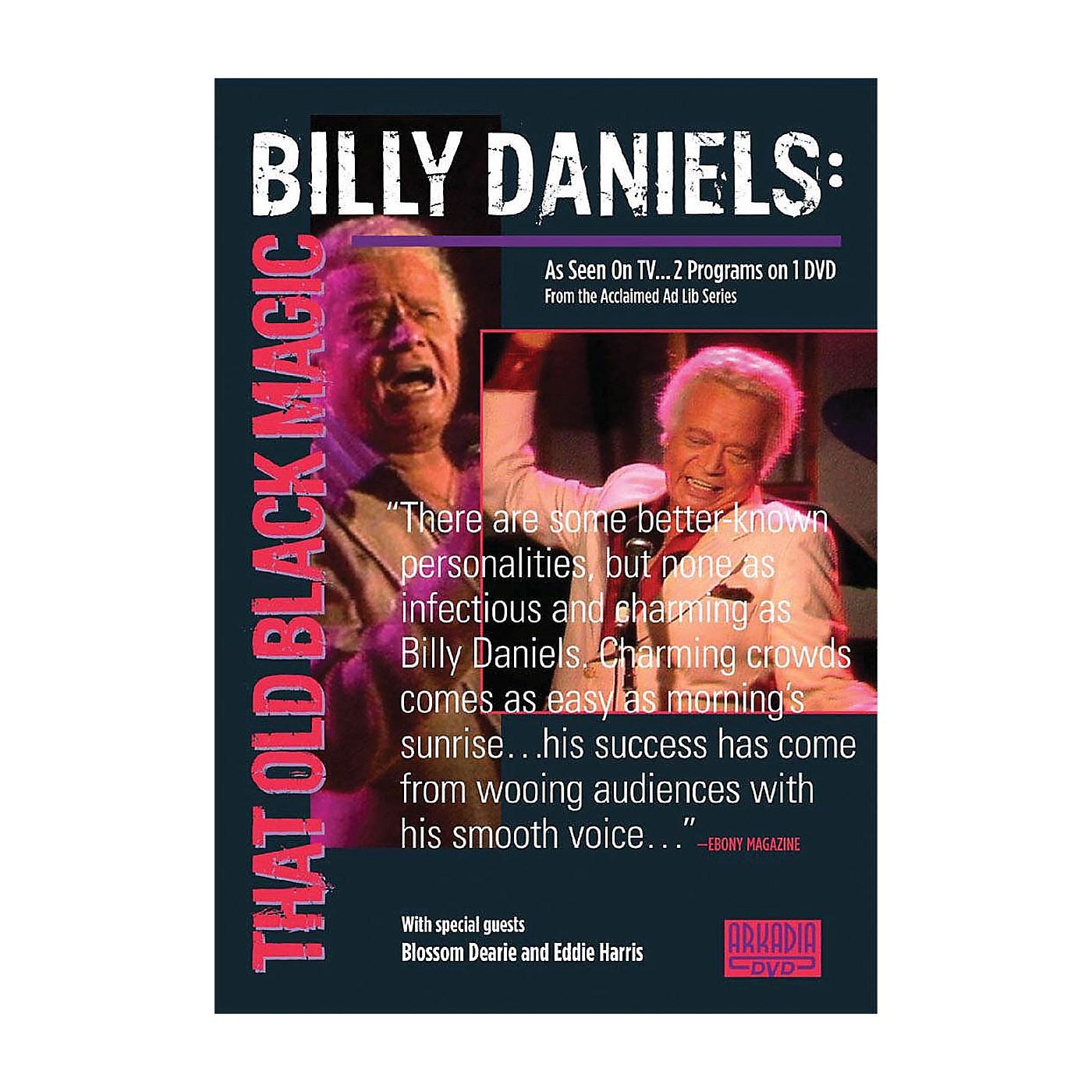 Hal Leonard Billy Daniels - That Old Black Magic (Visions of Jazz Series) DVD Series DVD Performed by Billy Daniels thumbnail
