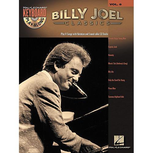 Hal Leonard Billy Joel Classics - Keyboard Play-Along, Volume 8 (Book/CD) thumbnail
