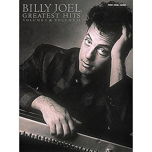 Hal Leonard Billy Joel  Greatest Hits Volume 1 & 2 Piano, Vocal, Guitar Songbook-thumbnail