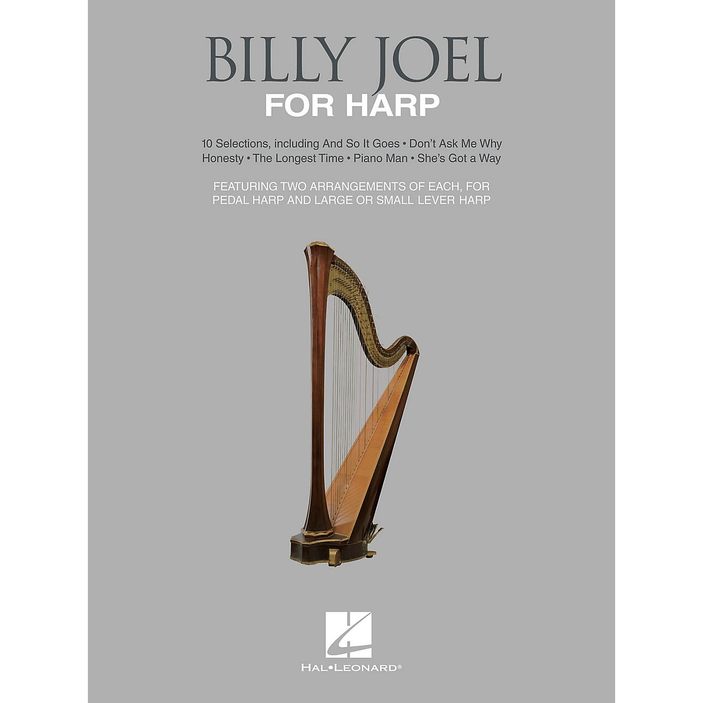 Hal Leonard Billy Joel for Harp (10 Selections for Lever and Pedal Harp) Folk Harp Series Softcover by Billy Joel thumbnail