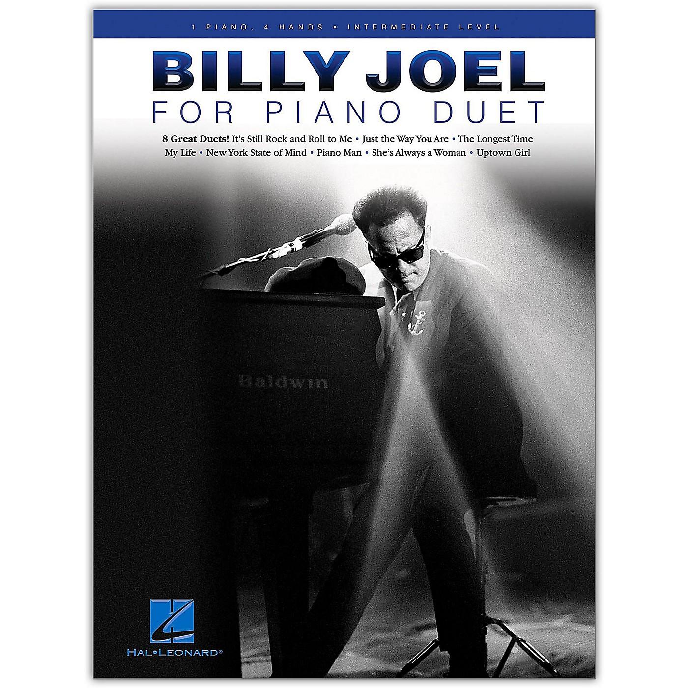 Hal Leonard Billy Joel for Piano Duet - 1 Piano, 4 Hands / Intermediate Level thumbnail