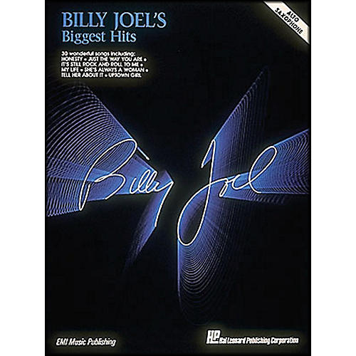 Hal Leonard Billy Joel'S Biggest Hits Alto Saxophone thumbnail