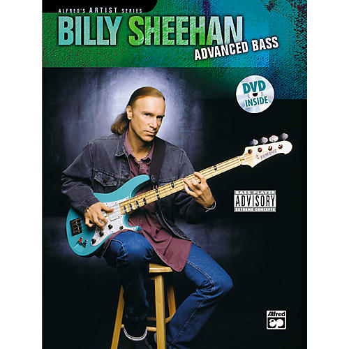 Alfred Billy Sheehan: Advanced Bass (Book/DVD) thumbnail